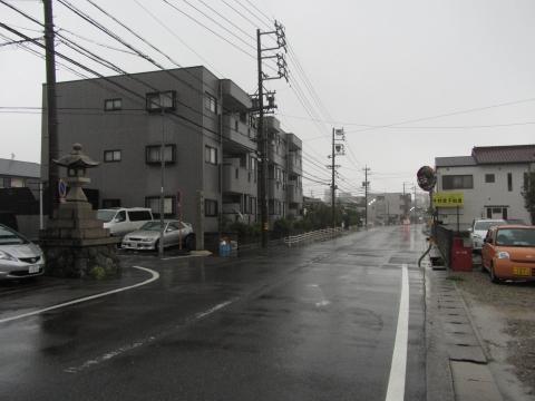 旧東海道 豊明市前後町五軒屋