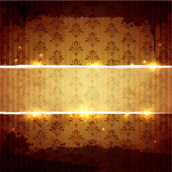 輝くパターンに帯の背景 shining pattern background