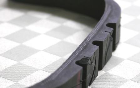 タイヤの断面図