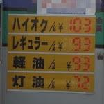 リッター90円のガソリン