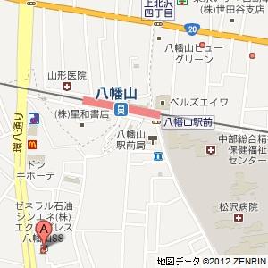 ゼネラル Express 八幡山SSの地図