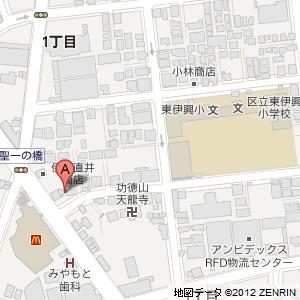 キグナス セルフ24H竹ノ塚の地図