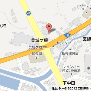 ユニーオイル 知多長浦インターSSの地図