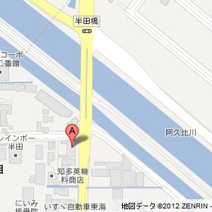ユニーオイル 岩滑SSの地図