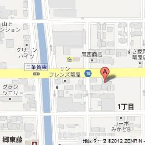 スマイルセルフの地図
