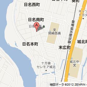 日名SSの地図