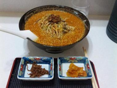 胡麻味噌南蛮拉麺