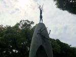 原爆の子の像 佐々木禎子さん
