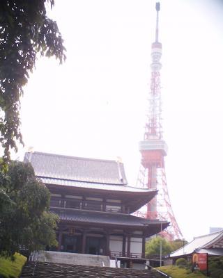 増上寺と東京タワー:R2