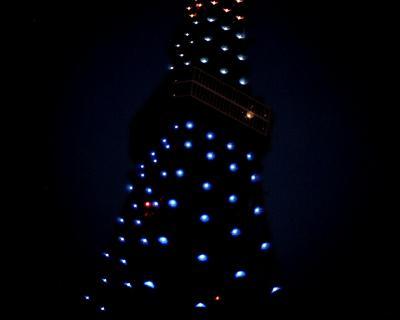 オリンピックカラーの東京タワー:Entry