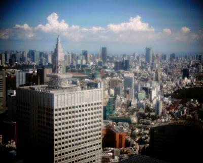 夏空の東京タワー:Entry