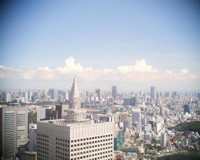 東京タワーの上に月:R2