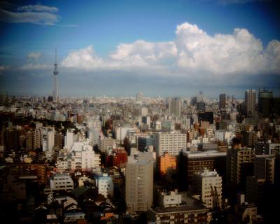 入道雲と東京スカイツリー:Entry