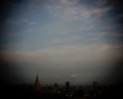 都庁展望台で月見:Entry
