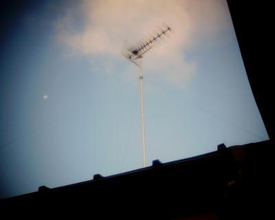 アンテナと月見:Entry