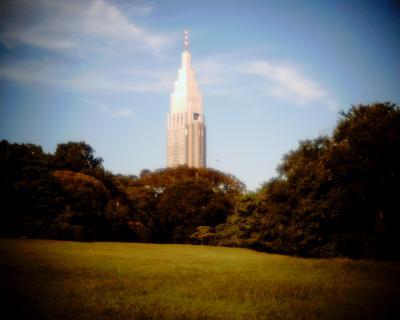 明治神宮御苑からdocomoタワー:Entry