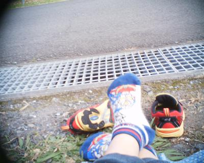 足:甥っ子撮影