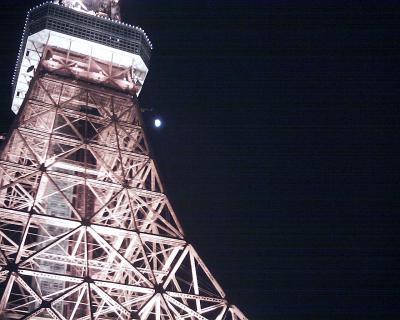東京タワーと月見:R2