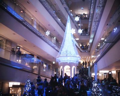 ディズニー・クリスマスツリー:表参道ヒルズ:R2