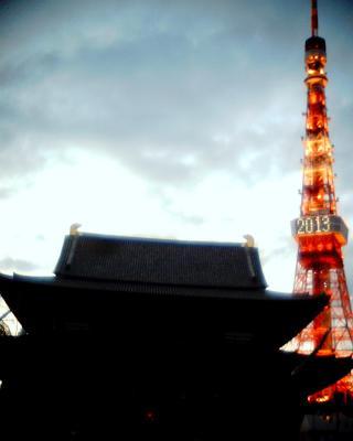 増上寺と東京タワー2013:Entry
