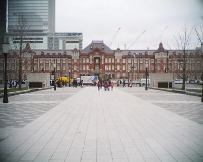 新年の東京駅:R2