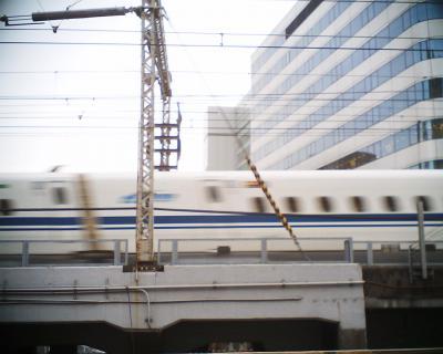 N700系新幹線がグニャリ:R2