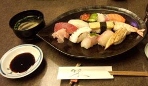 お昼ご飯 お寿司
