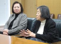 橋元会長と磯野元教育長