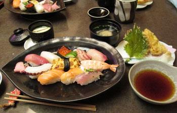今日のご馳走 お寿司