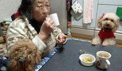 食後の?生姜湯