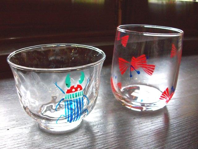 かみやかなこ グラス