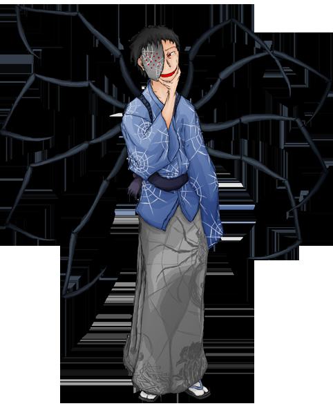 蜘蛛立ち絵4