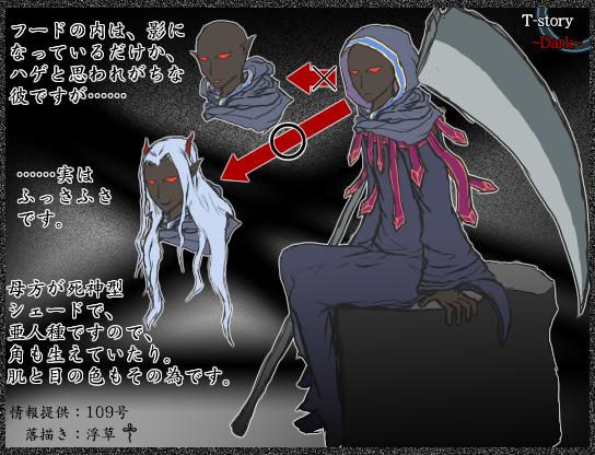 Dark〜ガルド解説画像〜髪の件