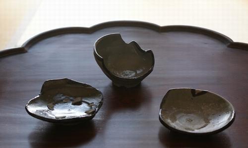 古唐津陶片1