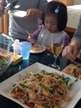 タイ料理2日目(かなほちゃん)