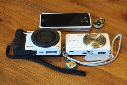 新旧カメラと携帯