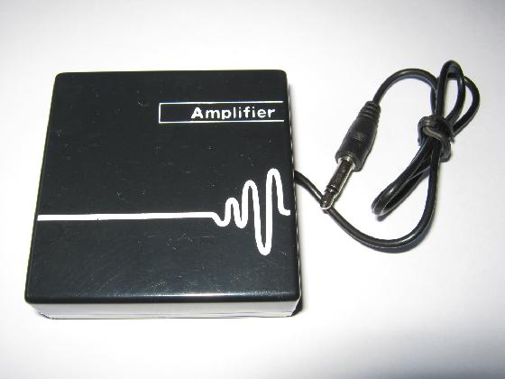 超簡易版ラジコンモニターの製作Amp外観1