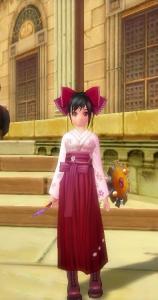 桜の袴セット