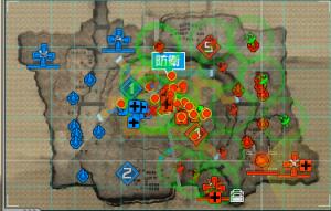 鉱山基地右二拠点