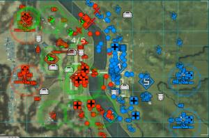 城郭都市左二拠点中盤