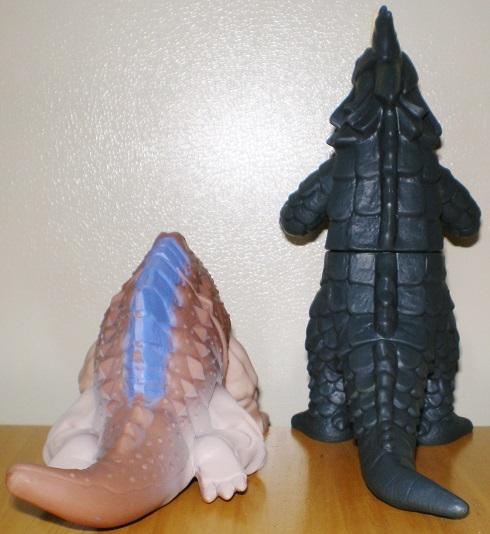 ウルトラ怪獣500 ガヴァドンB、シーゴラス0