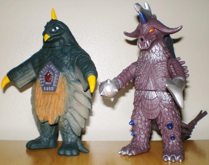 ウルトラ怪獣500 ベムスター、バラバ
