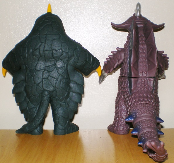 ウルトラ怪獣500 ベムスター、バラバ0
