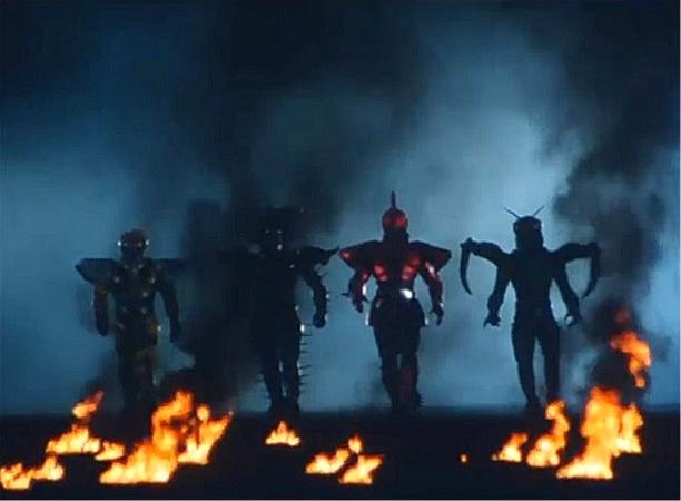 ビーファイターカブト ビークラッシャー 闇の四鎧将