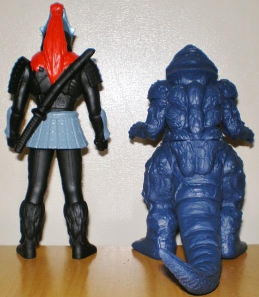 ウルトラ怪獣500 ザムシャー、ファイヤーゴルザ0