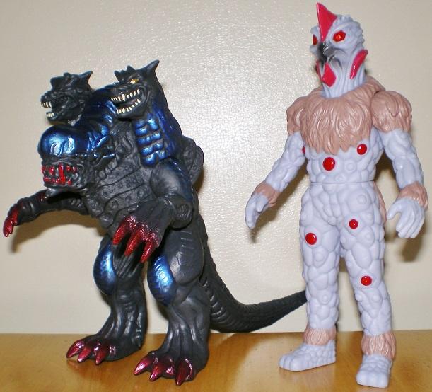 ウルトラ怪獣500 ダークガルベロス、ナックル星人グレイ