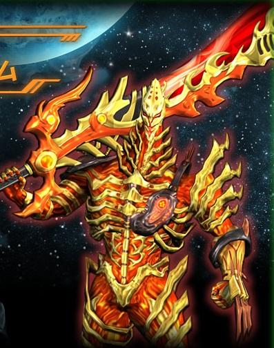 大怪獣ラッシュ デスレ星雲人デフレイム
