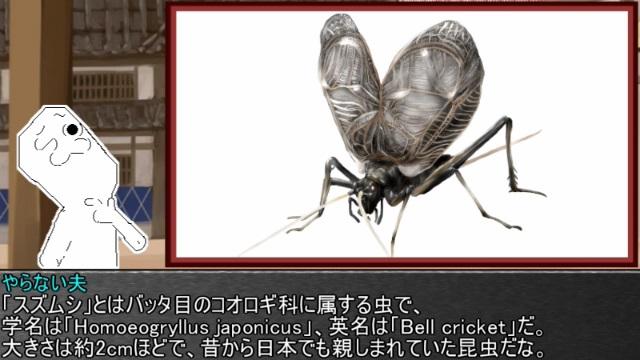 ゆっくり霊夢とやる夫が学ぶ 昆虫大百科 part9