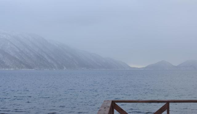 冬の支笏湖5