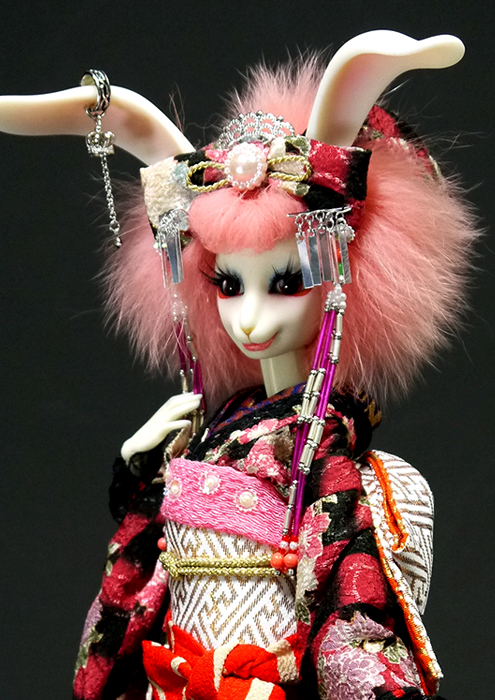 kimono02, usagi, bunny, doll